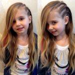 Çocuk Saç Modelleri Salık Yandan Üçlü Örgülü
