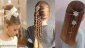 Çocuk Saç Modelleri ve Kız Çocukları İçin Güzel Saç Stilleri
