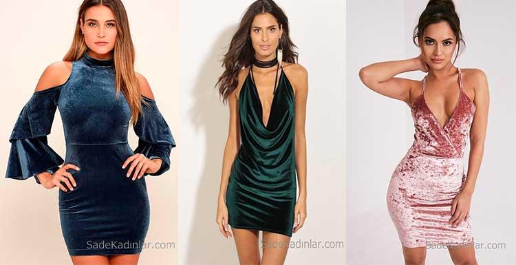 2019 Kadife Gece Elbiseleri ve Abiye Modelleri İle Işıl Işıl Parlayın!