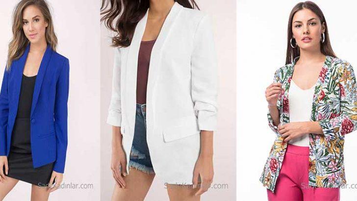 Blazer Ceket Modelleri Şık Ceketler İle Stilinizi Tamamlayın!