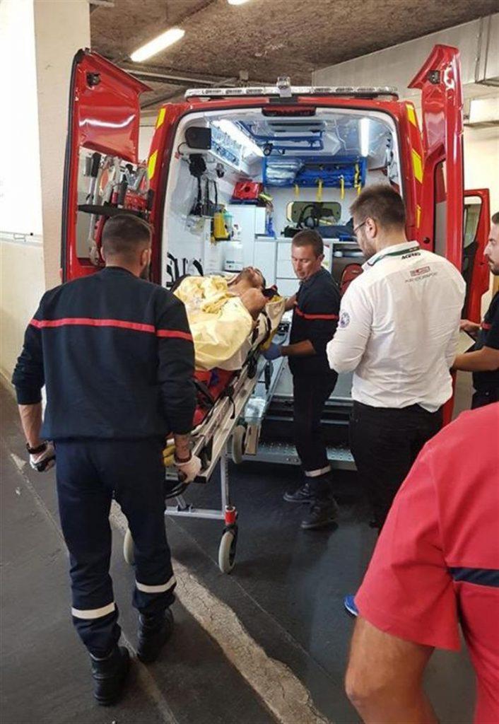 Kenan Sofuoğlu Milli motosikletçi Fransa'da Kaza Geçirerek Hastaneye Kaldırıldı.