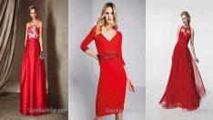 Pronovias 2018 Kırmızı Abiye Elbise Modelleri Büyülüyor!