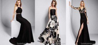 Pronovias'ın En Güzel 2018 Siyah Abiye Elbise Modelleri