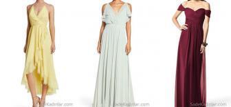 Uçuş Uçuş 75 Tane Uzun Şifon Abiye Elbise Modelleri