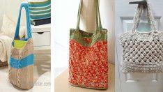 Örgü Çanta Modelleri En Trend ve Çok Şık Çantalar