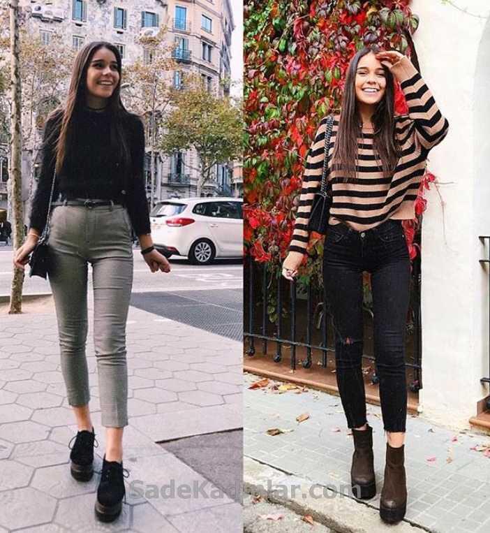 2019-2019 İlkbahar Yaz Jean (Kot) Tulum Modelleri ve Kombinleri 73