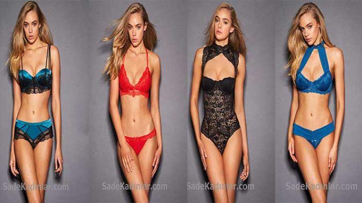 2018 Bayan İç Giyim Modelleri Seksiliği İle Baştan Çıkarıyor!
