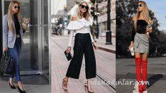 2018 Sokak Modası En Trend Bahar Kombinleri