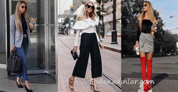 2019 Sokak Modası Trendleri İlkbahar & Yaz Kombinleri