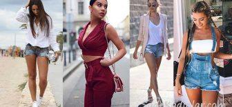 2018 Sokak Modası En İyi Yazlık Sokak Stili Moda Kombinleri