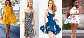 2018 Yazlık Elbise Modelleri İle Çok Şık ve Havalı Olabilirsiniz!