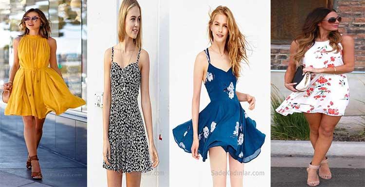 2020 Yazlık Elbise Modelleri İle Çok Şık ve Havalı Olabilirsiniz!