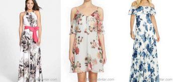 Yazlık Rahat ve Şık 2019 Şifon Elbise Modelleri