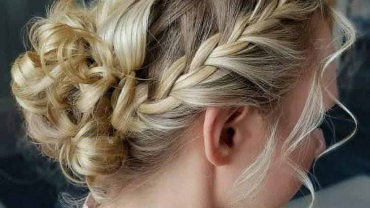 23 Güzel Örgülü Topuz Saç Modelleri Mutlaka Denemelisiniz