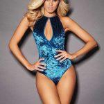 Bayan İç Giyim Modelleri Mavi Kadife