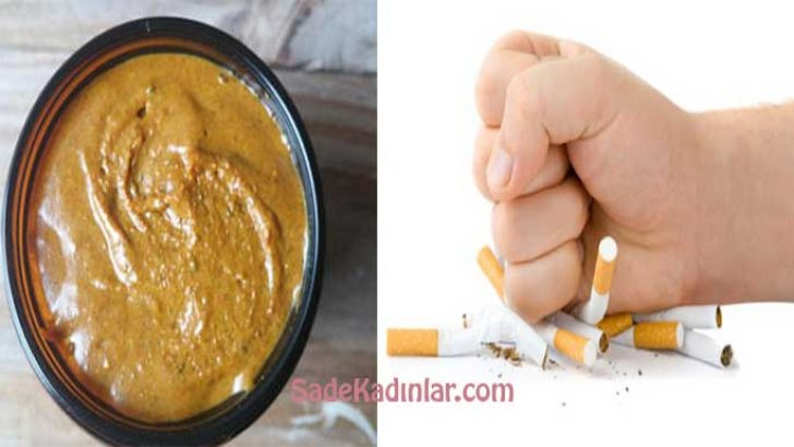 Datça Macunu İle Sigarayı Bir Günde Bırakın! Azaltarak Değil