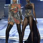 2017 Victoria's Secret Show Hereith Paul and Grace Bol