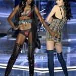 2017 Victoria's Secret Show Leomie Anderson and Liu Wen