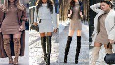 Triko Elbise Modelleri Şıklıktan Ödün Vermeyen Kadınların Tercihi!