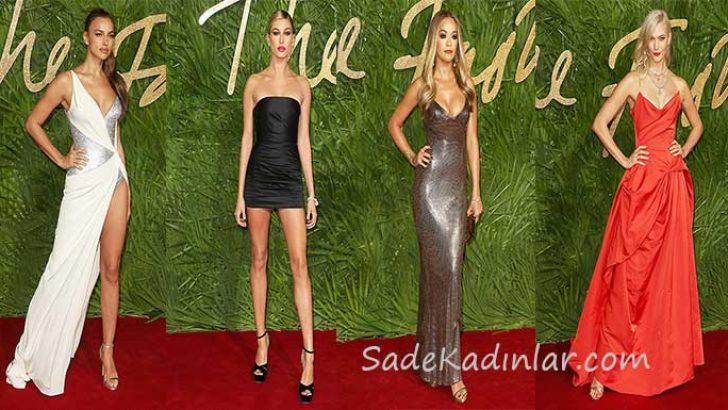 2017 Moda Ödülleri Kırmızı Halı'da Nefes Kesen Ünlü İsimler
