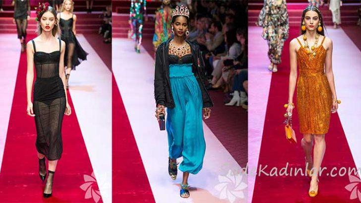2018 Dolce & Gabbana İlkbahar/Yaz Koleksiyonu