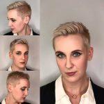 2018 Kısa Saç Modelleri Pixie Saç Modeli Saç Kesimleri platinum pixie