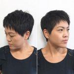 2018 Kısa Saç Modelleri Pixie Saç Modeli Saç Kesimleri shattered pixie cut