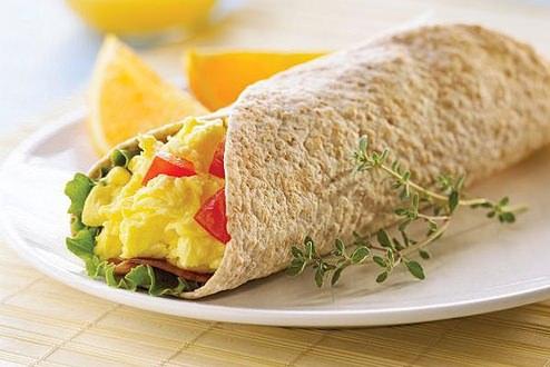 Diyet Kahvaltılık Wrap
