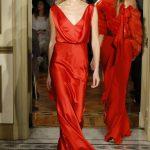 En Şık 2018 Abiye Modelleri Kırmızı Alberta Ferretti
