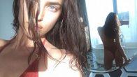 Irina Shayk Banyosunda Çektiği Selfie ile Sosyal Medyayı Salladı