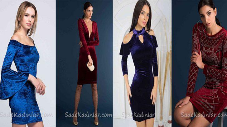 Kadife Elbise Modelleri Zerafetin Ta Kendisi