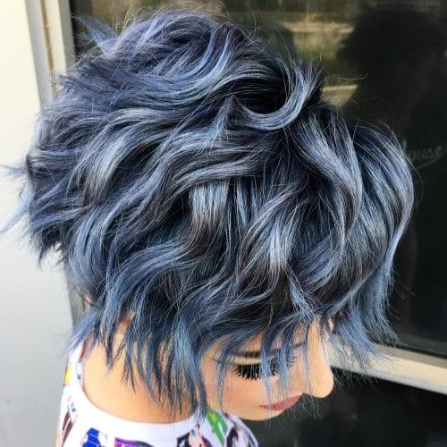 Kısa Saç Modelleri kısa dalgalı saç kesimleri seamlessly intertwined