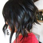 Kısa Saç Modelleri kısa dalgalı saç kesimleri stacked lob
