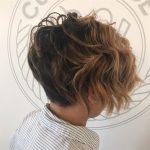 Kısa Saç Modelleri kısa dalgalı saç kesimleri textured undercut