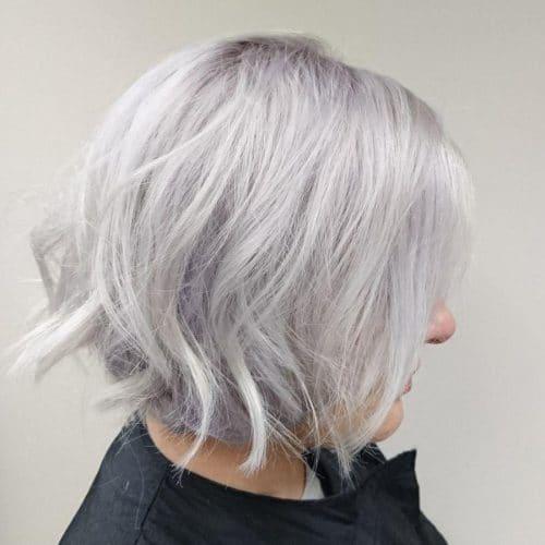 Kısa Saç Modelleri kısa dalgalı saç kesimleri undercut wavy bob