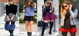 Kloş Etek Kombinleri Şık ve Son Moda Kombin Önerileri