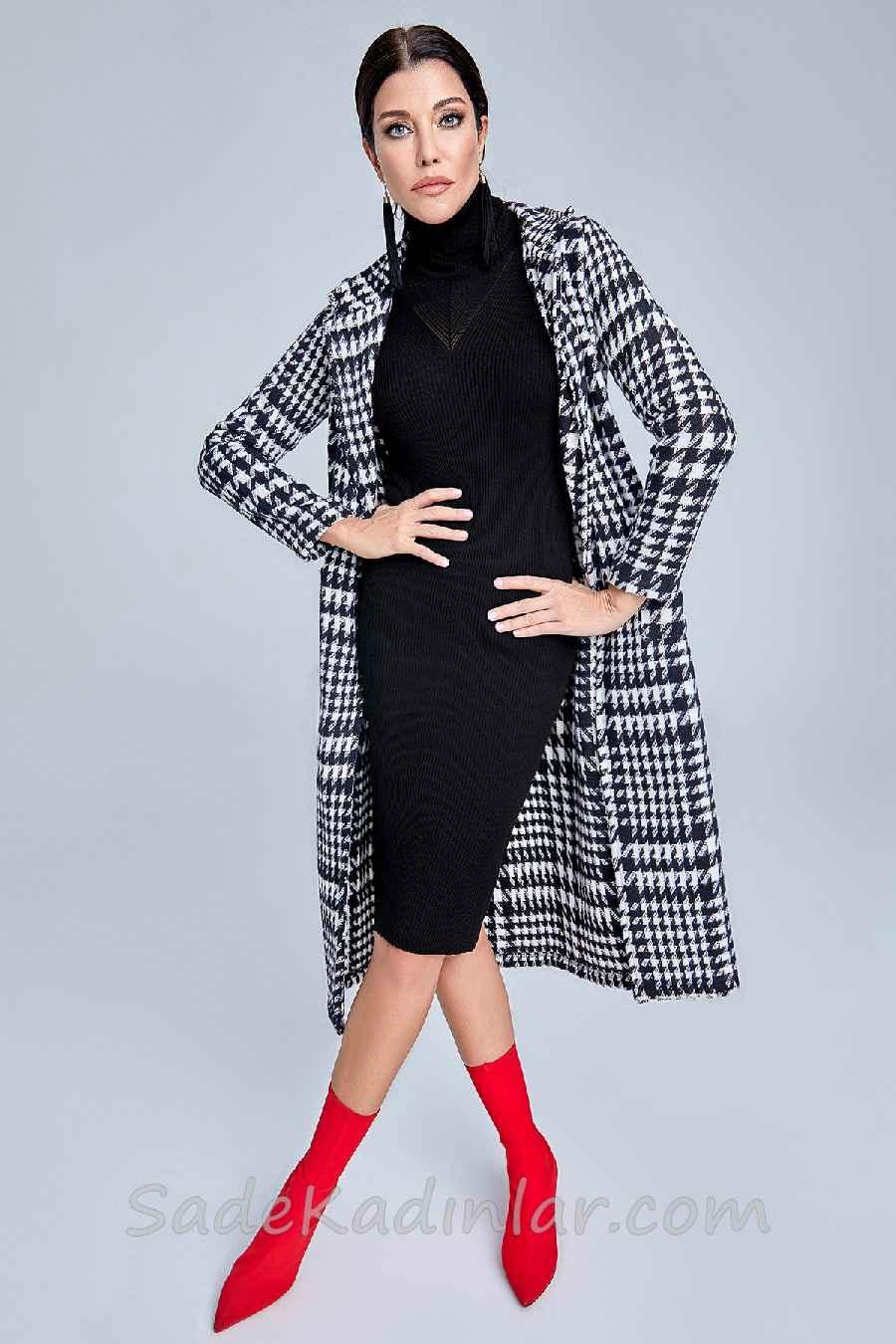 2019 Modası Triko Elbiseler