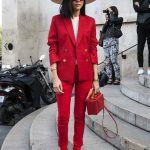 2021 Sokak Modasının En Dikkat Çekici Kırmızı Kombinleri
