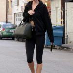 Ünlü Manken ve Modellerin Spor Giyim Stilleri Rosie Huntington Whiteley