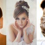 2018 Gelin Başı Modelleri, Gelin Topuzu En Güzel Gelinler İçin