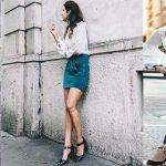 2020 Sokak Modası İlkbahar & Yaz Topuklu Ayakkabı Kombin Önerileri