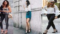 2018 Sokak Modası İlkbahar & Yaz Topuklu Ayakkabı Kombin Önerileri