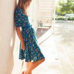 Uzun Çiçekli Elbise Modelleri 2020 Yaz Modası Trendleri