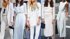 2018 Beyaz Kıyafet Kombinleri, Saflığı ve Asaletin Rengi