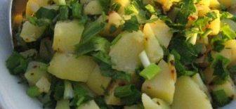 Patates Salatası Hem Kolay Hem Pratik Tarif