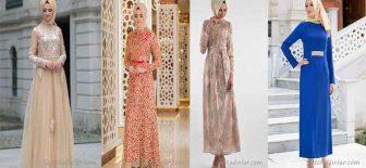 Tesettür Abiye Elbise Modelleri Şık ve Modern Abiyeler