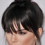 Topuz Modelleri, Kendall Jenner cool görünümünü bir topuzla taçlandıranlardan.