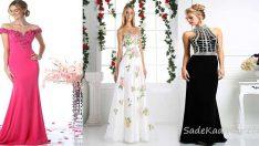 Uzun Abiye Elbise Modelleri Düğünlerin Vazgeçilmez Kıyafetleri