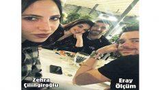 Zehra Çilingiroğlu Sevgilisinin Fotoğrafını Sosyal Medyadan Yayınladı!