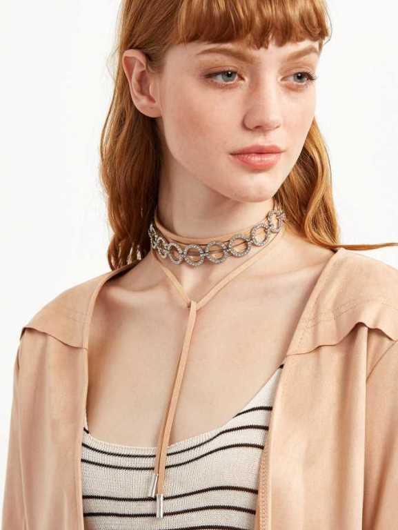 Kadınların Boynunu Süsleyen 2021 Chocker Kolye Modelleri